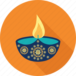 celebration, decoration, diwali, diwali lamp, diya, happy diwal, hindu festival icon