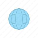 delivery, globe, logistics icon