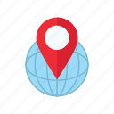 delivery, location, logistics icon