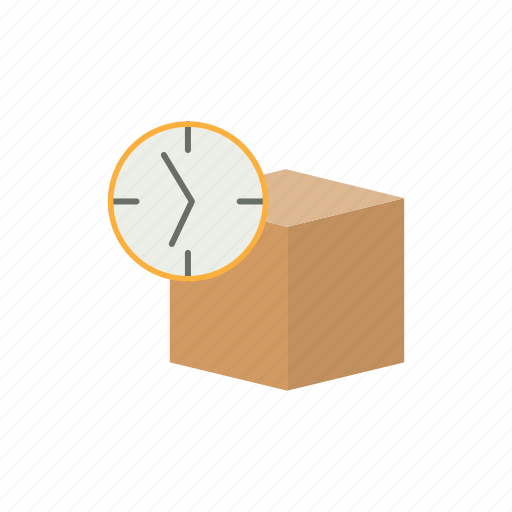 delivery, logistics, ontime icon