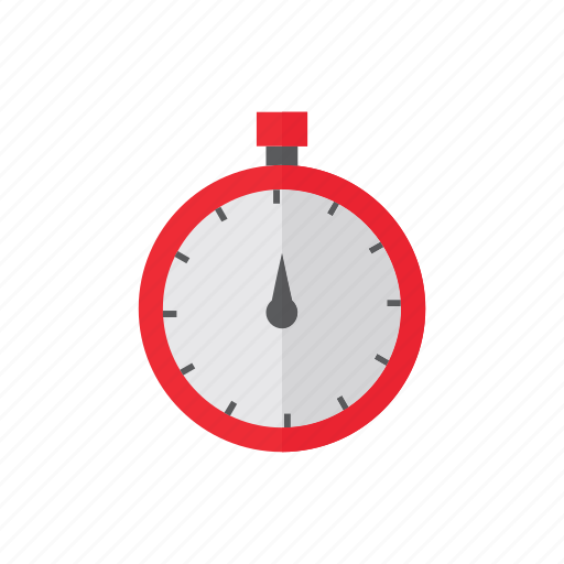 delivery, logistics, stopwatch icon