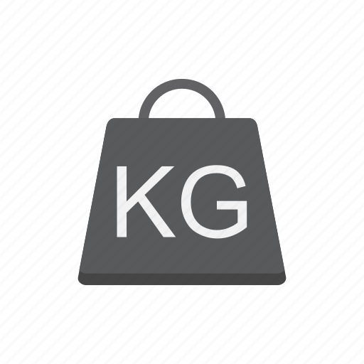 delivery, kg, logistics, weight icon