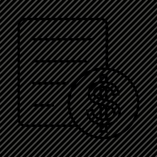 delivery, documets, logistics, property icon