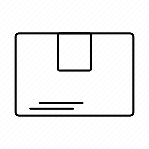 delivery, folder, logistics icon
