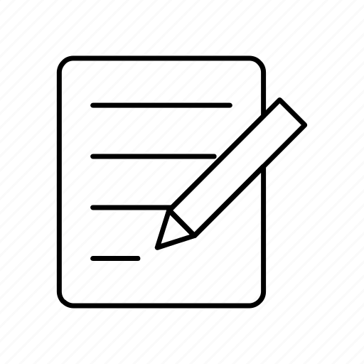 delivery, logistics, notepad icon