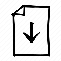 arrows, bottom, direction, down, move, pin, pointer icon