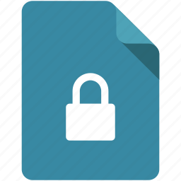 access, document, lock, locked, protection, unlock, unlocked icon