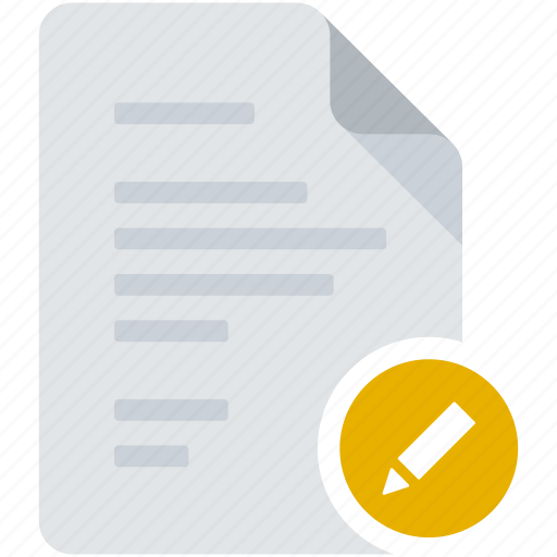 document, edit, pen, pencil, preferences, tag, write icon