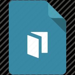 access, catalog, doc, document, file, folder, share icon