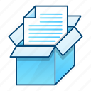 archive, data, document, office, save, storage icon