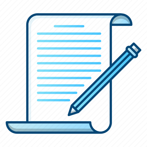 document, edit, notepad, office, writing icon
