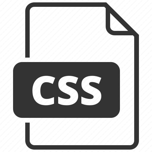 cascading style sheet, css, file format icon
