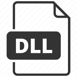 dll, dynamic link library, file format icon
