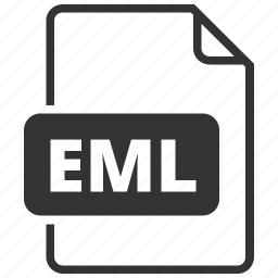 e-mail, eml, file format icon