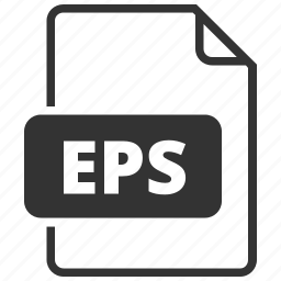 eps, file format, image, vector format icon