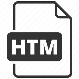 file format, htm, hypertext markup language icon