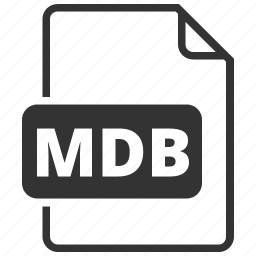 database, file format, mdb icon
