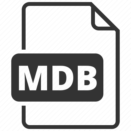 database, file format, mdb icon