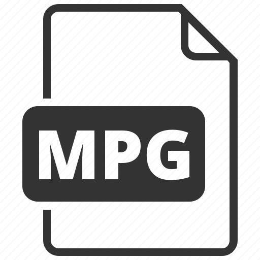 file format, image, mpg icon