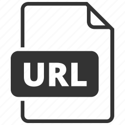 file format, uniform resource locator, url, web address icon