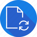 contact, document, file, files, folder, type icon