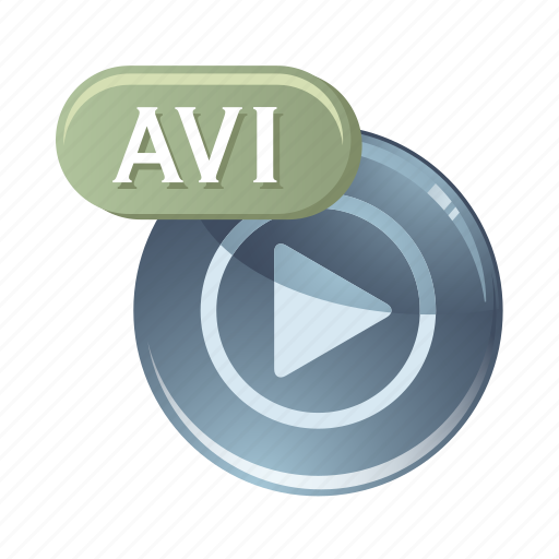 audio, avi, media, music, play, sound icon