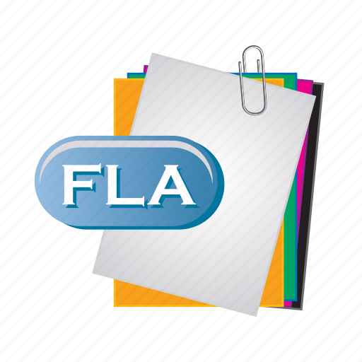 Fla, document, file, folder, format, paper icon - Download on Iconfinder