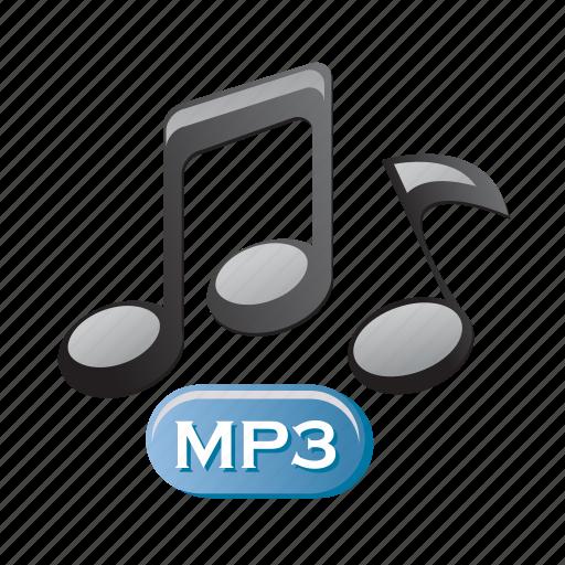 audio, media, mp3, music, note, player icon