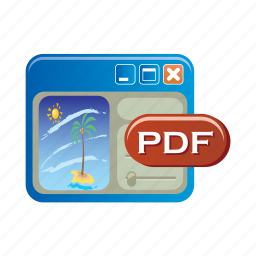 document, file, folder, format, pdf, type icon