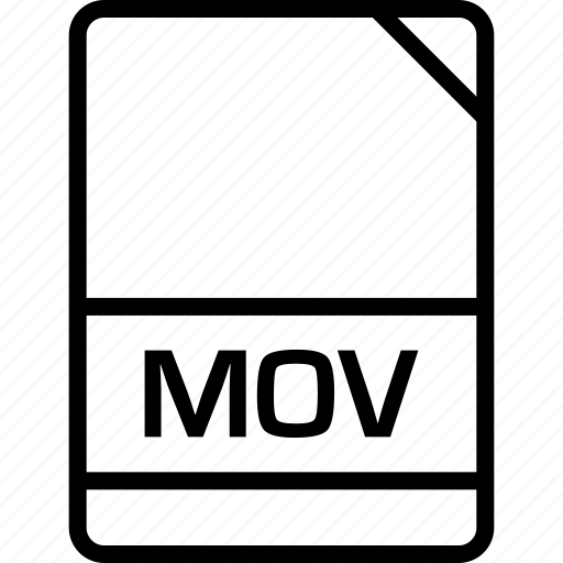 document, file, mov, name icon