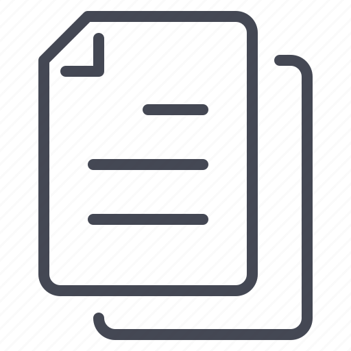 data, file, notes, paper icon