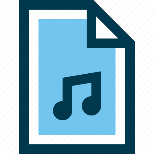 Audio, document, file, media, music icon - Download on Iconfinder