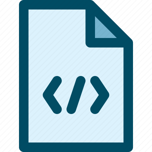code, css, document, file, html, web icon