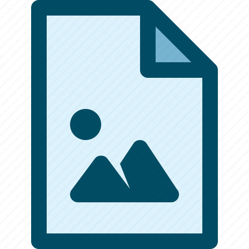 document, file, image, media, picture icon
