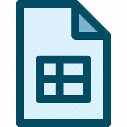 document, file, sheet, tab icon