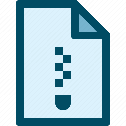 archive, document, file, zip icon
