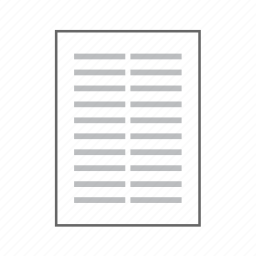 Content, copyright, document, page, sheet, text, information icon - Download on Iconfinder