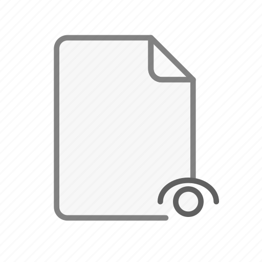 blanck, document, file, office, page, sheet, visible icon