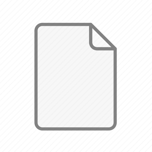 blank, document, file, office, page, sheet, text icon