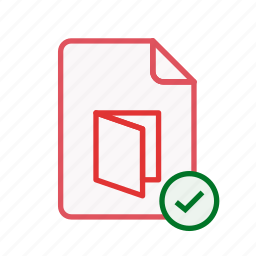 accept, document, file, office, page, pdf, sheet icon