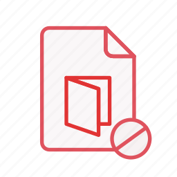 block, document, extension, file, office, page, pdf icon