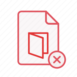 close, document, file, office, paper, pdf, sheet icon