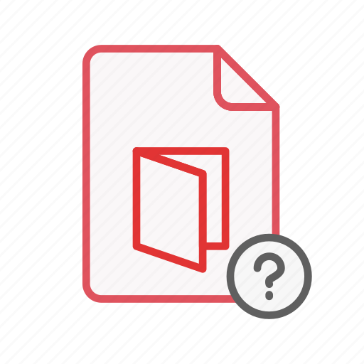 document, file, office, page, pdf, question, sheet icon