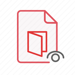 document, file, office, page, pdf, sheet, visible icon