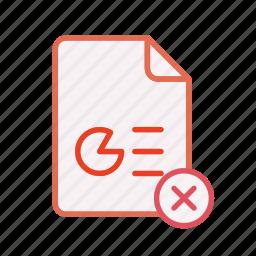 close, document, file, office, ppt, presentation, remove icon