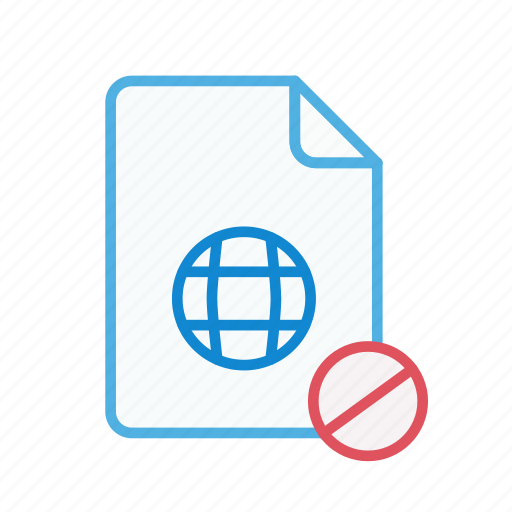 block, document, file, internet, page, web, webpage icon