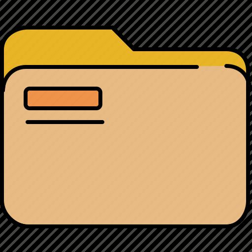 file, folder, interface icon