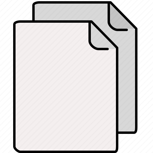blank, documents, file, interface, multiple icon