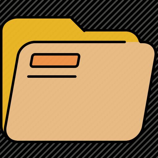 file, folder, interface, open icon