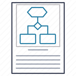 description, document, file, instruction, regulations, specification icon